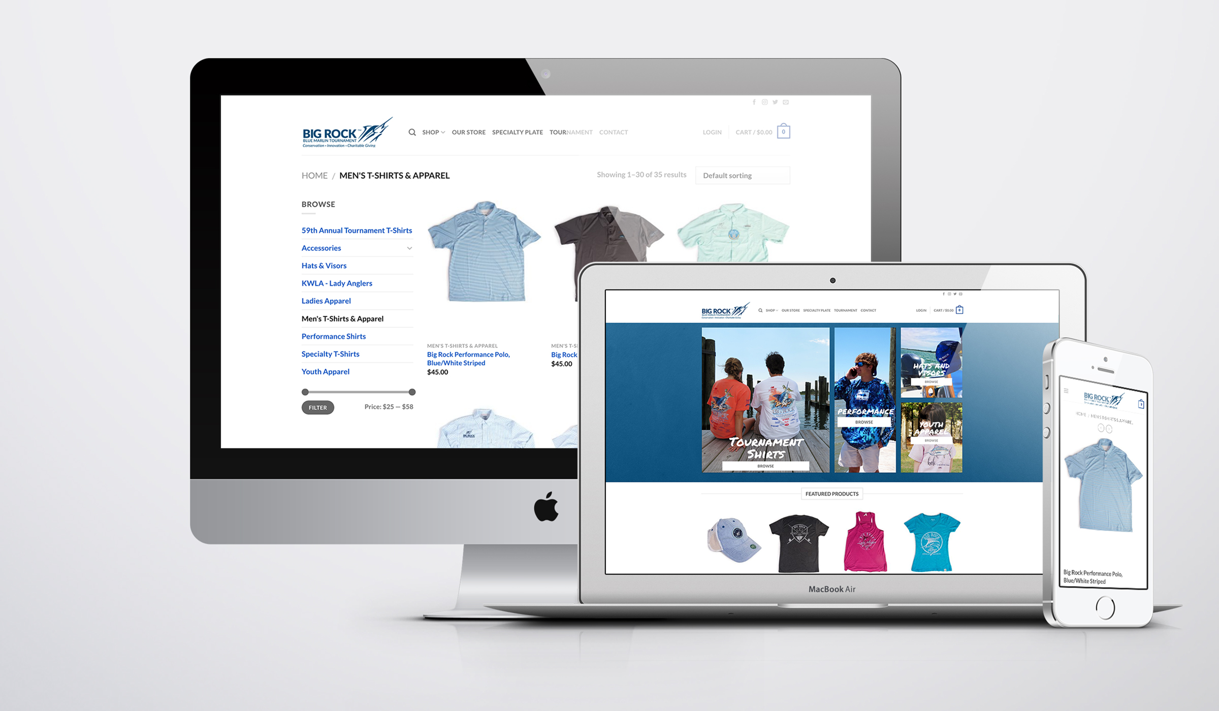 TAP Agency thebigrockstore.com, developed by TAP